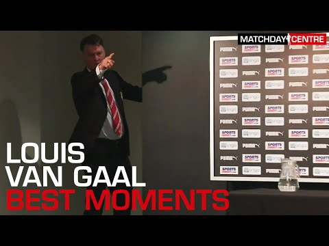 Louis Van Gaal Best Moments