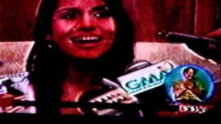 Barbara Barbie Salvador of  Pozorrubio , Pangasinan on TV Patrol Dagupan