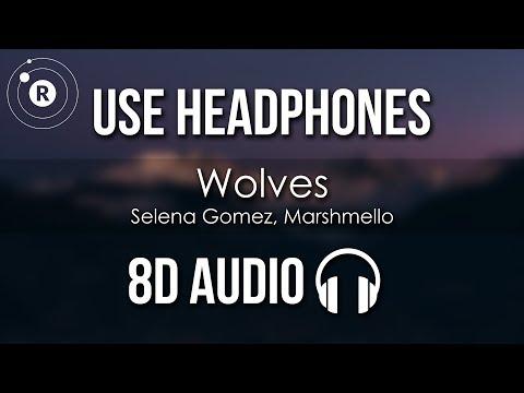 Selena Gomez, Marshmello - Wolves (8D AUDIO)