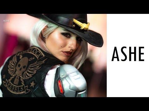 Официальный косплей Эш, нового героя Overwatch