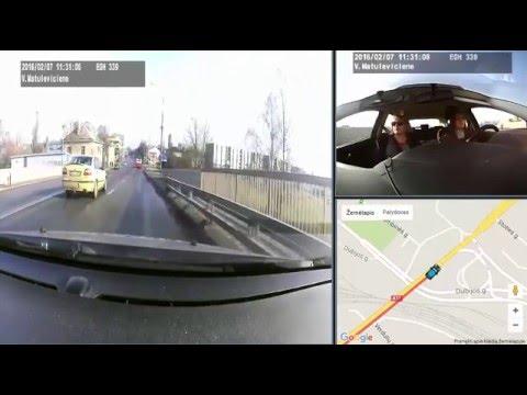 """Mokomasis vairavimo įrašas """"Šiaulių autovita"""""""