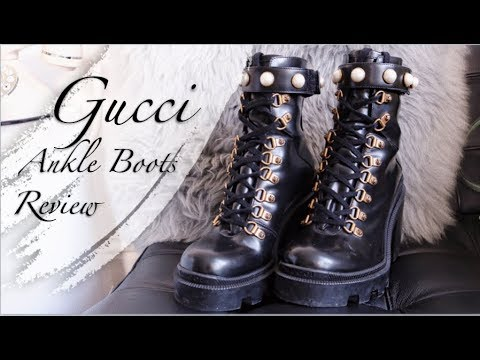 Gucci Ankle Boots Review - YouTube