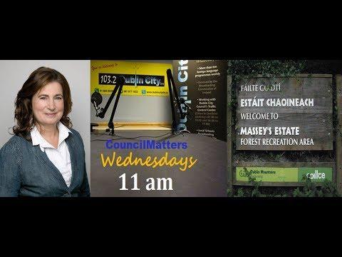 Elizabeth Davidson speaks up for protection of Massy Estate nature reserve..