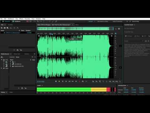 How To Bass Boost With Adobe Audition