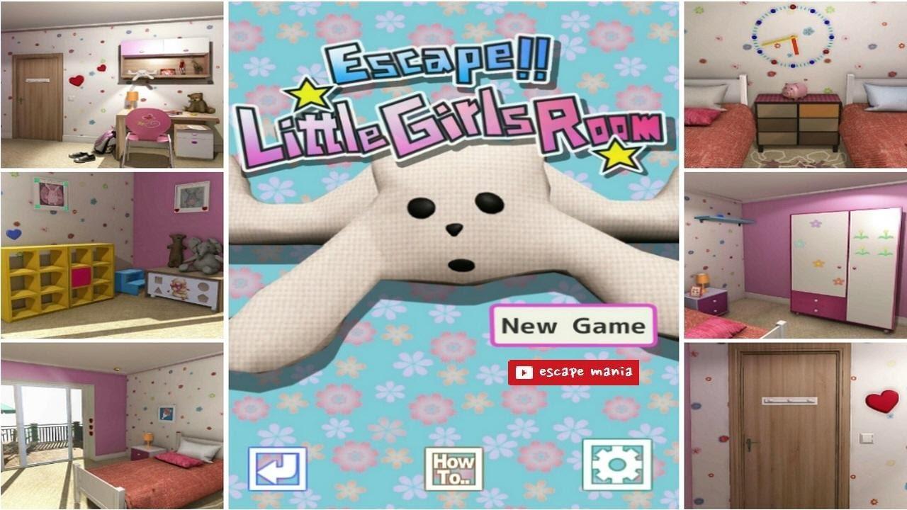Escape Little Girls Room walkthrough [DAIKOKUYA SOFT] - YouTube