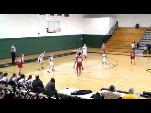 Tyra Myers c/o 2022 Hammond School(SC) 2016 Basketball Highlights (6th Grade)