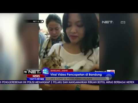 Viral Video Pencopetan Handphone di Bandung - NET12