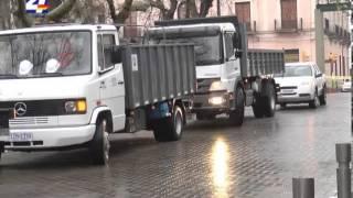 Nuevos camiones recolectores de residuos recibió la Intendencia de Paysandú