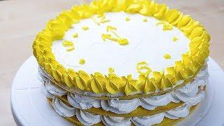 Торт на Новый Год.  Очень простой рецепт, справится каждый