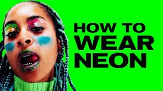 How to Really Wear Neon... ~ NAYVA Ep #3 ~ BEAUTY & FASHION EVERY WEEK