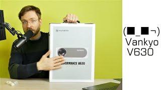 Vankyo V630 Performace Projektor: Beamer mit 6800 Lumen, Native 1080p,HDMI USB TV Stick Xbox Laptop