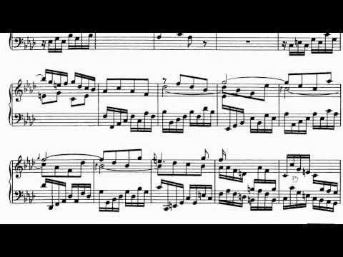 ABRSM Piano 2013-2014 Grade 7 A:1 A1 CPE Bach Allegro Sonata in Ab H.31 Sheet Music