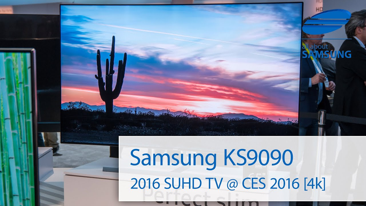 samsung ks9090 suhd tv 2016 ces 4k youtube. Black Bedroom Furniture Sets. Home Design Ideas