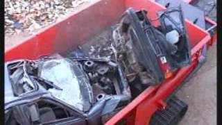 Измельчитель кузовов автомобилей VB 750 DK