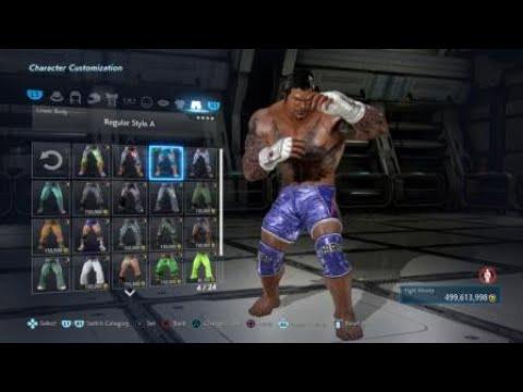 Tekken 7 How To Create Bruce Irvin Marduk Version Youtube