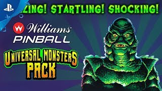 Williams Pinball - Universal Monster Pack Trailer | PS4