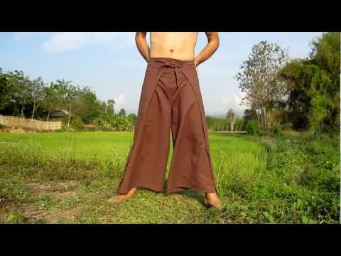 How To Tie - Drive In Movie Wrap Pants