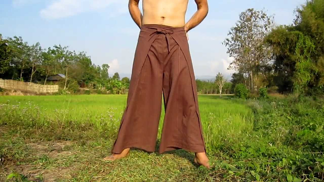 Look - How to fisherman wear wrap pants video