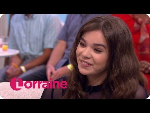 Hailee Steinfeld On Hanging Out With Taylor Swift   Lorraine