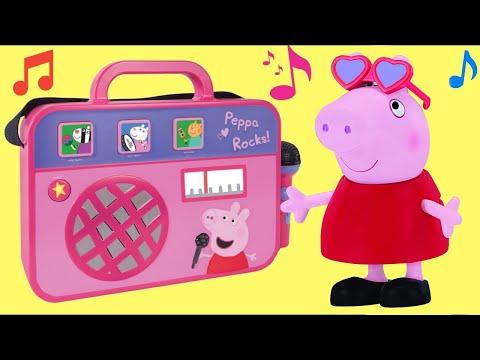 PEPPA PIG Boom Box Plays Music & Songs with George Pig
