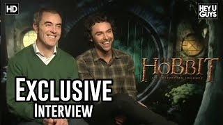 Aiden Turner amp James Nesbitt Interview - The Hobbit An Unexpected Journey
