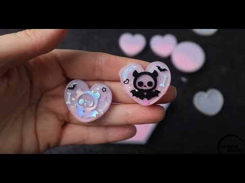 Watch Me Resin #24 | Spooky Cute Halloween Pieces | Seriously Creative Resin Timelapse