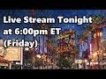 Live Stream Announcement | 11-10-17 | Walt Disney World