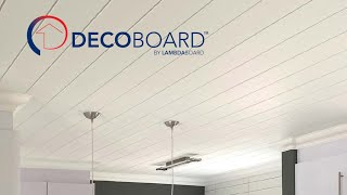 LAMBDABOARD® Decoboard Tongue & Groove Ceiling