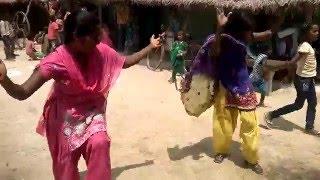 Enjoy village dance