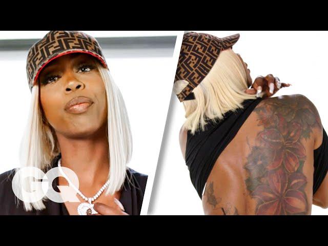 Kash Doll Breaks Down Her Tattoos | GQ