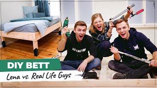 Bett selber bauen! DIY mit den Real Life Guys