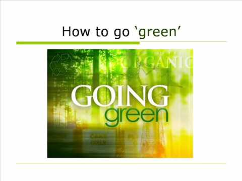 Venture marketing video: Green marketing