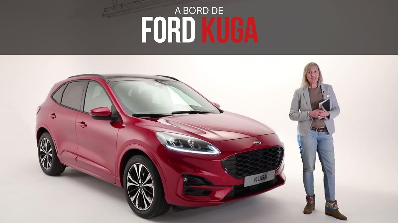 a bord du ford kuga 2019 youtube. Black Bedroom Furniture Sets. Home Design Ideas