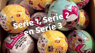 Serie 1, Serie 2 en Serie 3 L.O.L. Surprise Ballen open maken!