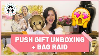 Push Gift Unboxing + BAG RAID!!!!