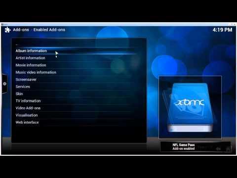 [HOW-TO] Watch NFL Game Pass/Rewind using XBMC 13 / Kodi 14  [09/2014] [Win7]
