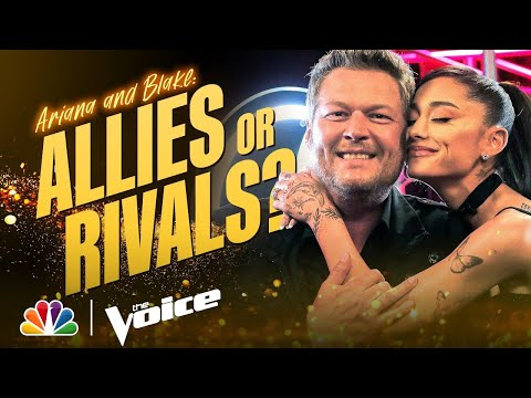 Are Ariana Grande and Blake Shelton Allies or Rivals? | The Voice 2021