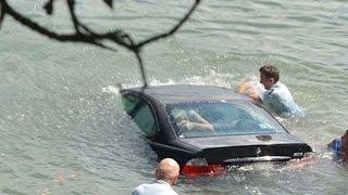 Шишига#4 Глохнет ли машина в воде?