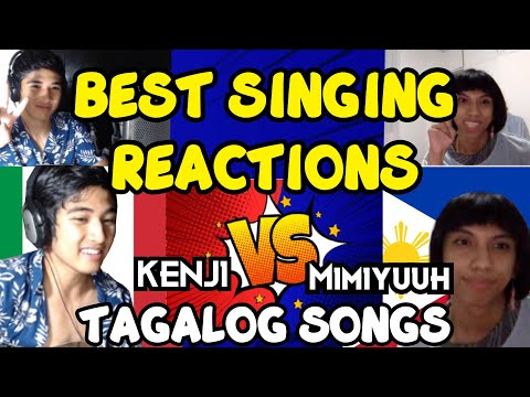 SINGING REACTIONS on OMEGLE TAGALOG SONGS
