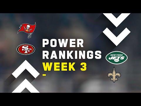 Week 3 Power Rankings!