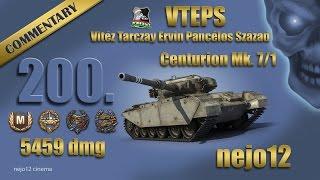 Centurion Mk. 7/1 - Ace Tanker, Confederate, Invader, High Caliber ( nejo12 )