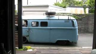 Low down Channeled VW type2 BUS.mpg