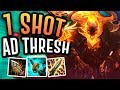 AD THRESH KILLS WITH 1 AUTO ATTACK?! - Off Meta Monday - AD Thresh - League of Legends