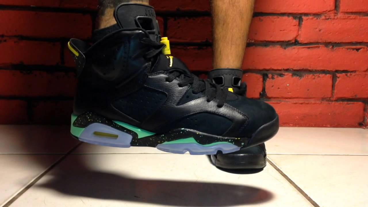 0f8566e527fc Air Jordan 6 World Cup Brazil on Feet.!! - YouTube