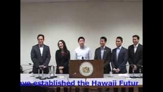 hawaii future caucus press conference nov 27 2013