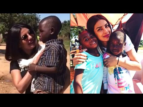 Priyanka Chopra Playing With Poor African Children Is Proof That She Is The Sweetest Celebrity