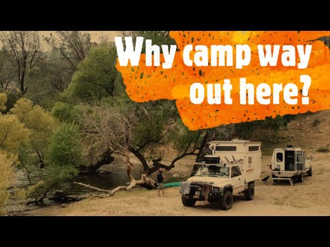 Paradise on the Kern river? Overland Campers find a hidden gem with Indian  artifacts!