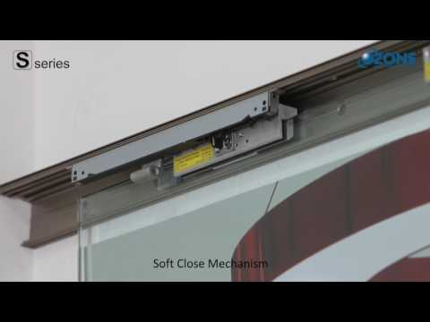Ozone Valencia Premium Office Sliding Door System with Soft