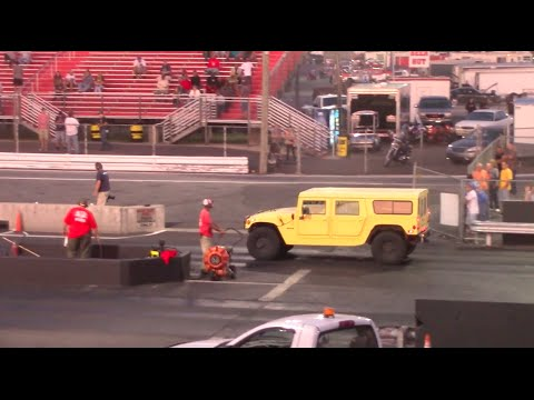 I Brought My Hummer to a Drag Strip