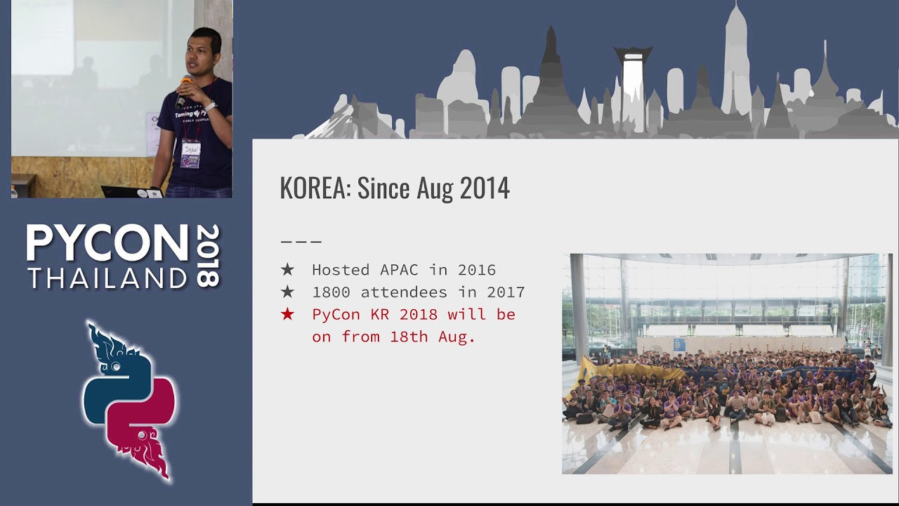 Image from PyCons in APAC